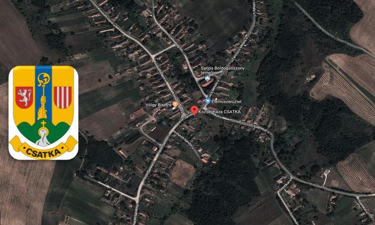 Csatka Google Earth
